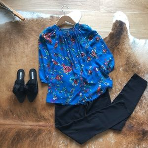 Warehouse London floral blouse